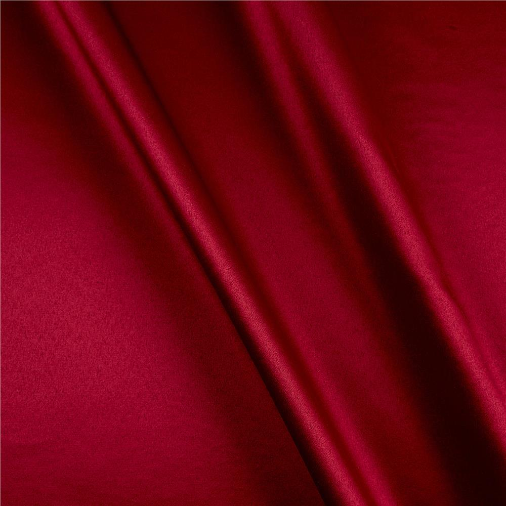 Mi Amor Duchess Satin Dark Red