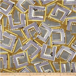 Contempo Precious Metals Frames Tan Ground