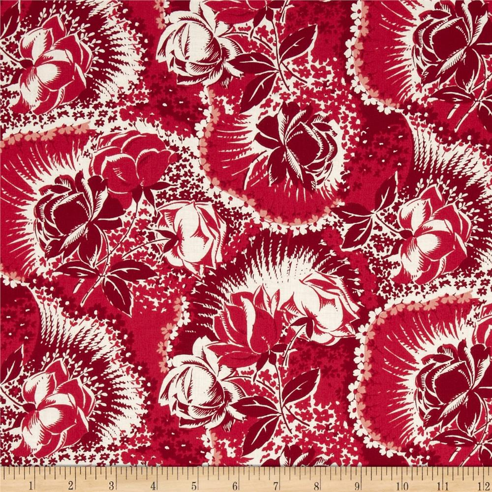 Anna Griffin The Madison Collection Firecracker Floral Cherry