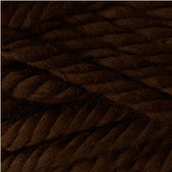 Bernat Mega Bulky Yarn 88029 Mocha Brown