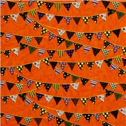 Moda Pumpkin Party Banners Pumpkin Orange