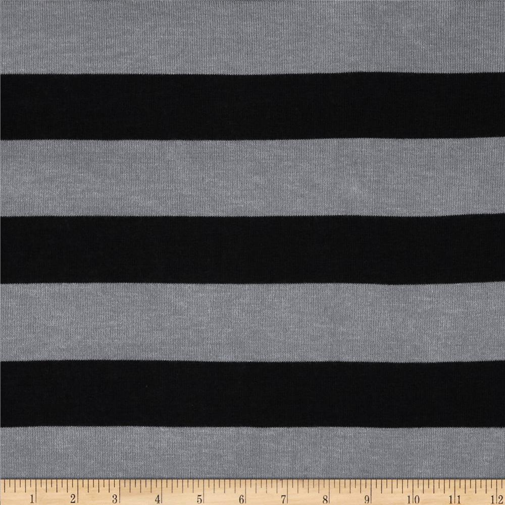 Stretch Yarn-Dyed Hatchi Black/Grey
