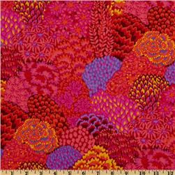 Kaffe Fassett Fall 2012 Collective Oriental Trees Red
