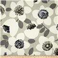 Contempo Cachet Large Floral Grey