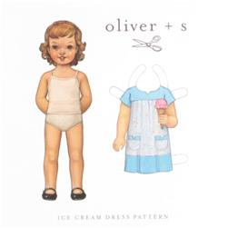 Oliver+ S Ice Cream Dress Pattern Sizes 6 Months-T3+4