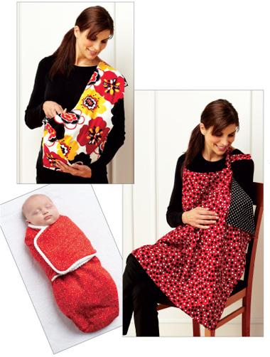 Kwik Sew Swaddler, Sling Carrier & Nursing Cover Pattern
