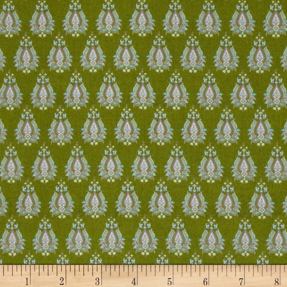 Briarcliff Paisley Medallions Green