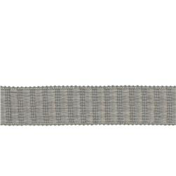 "Fabricut 1.5"" Winnowing Trim Grey"