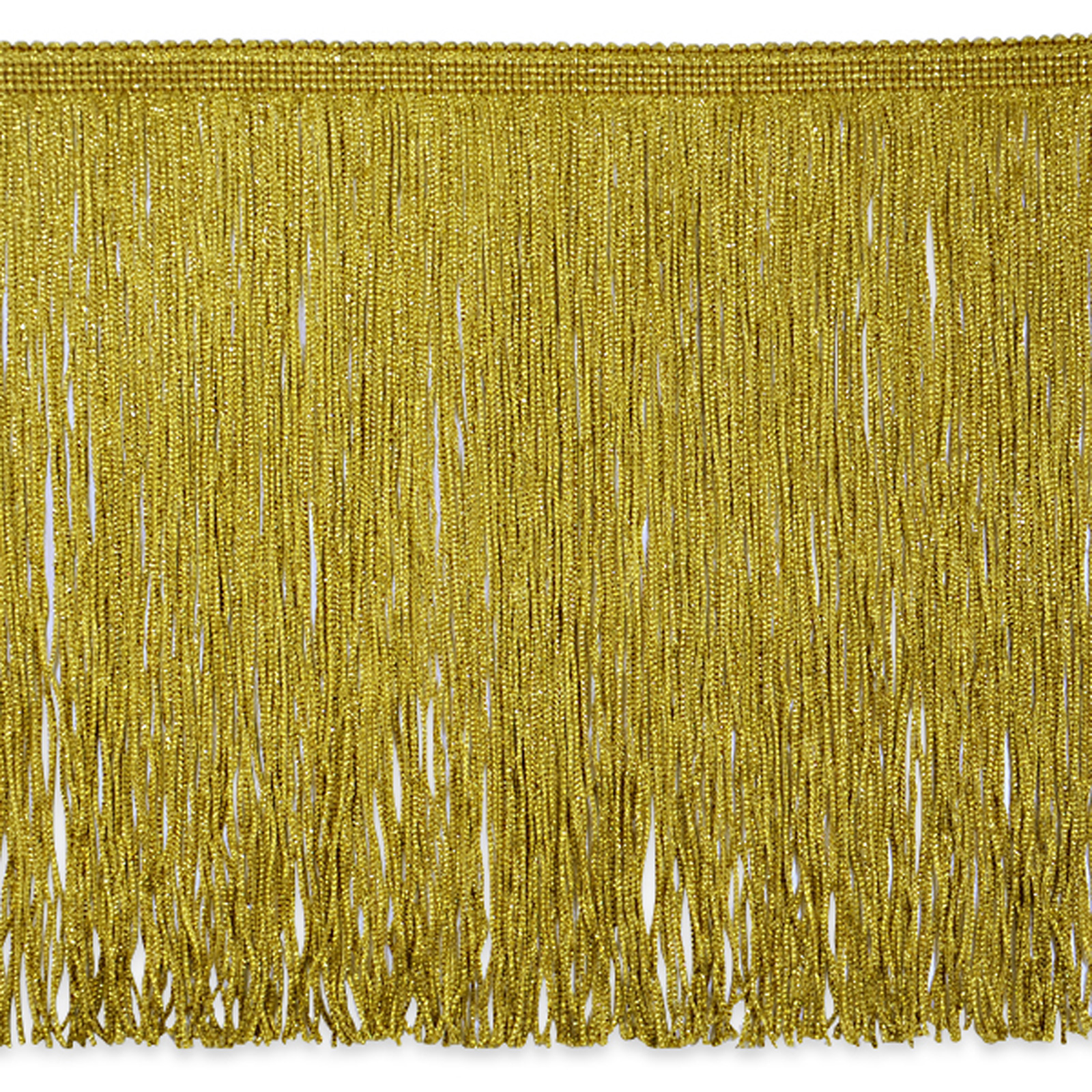12'' Metallic Chainette Fringe Gold by Expo in USA