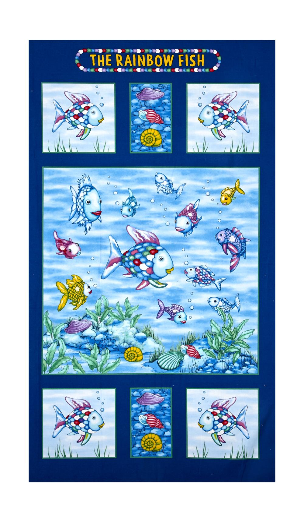 The rainbow fish glitter 24 panel multi discount for The rainbow fish
