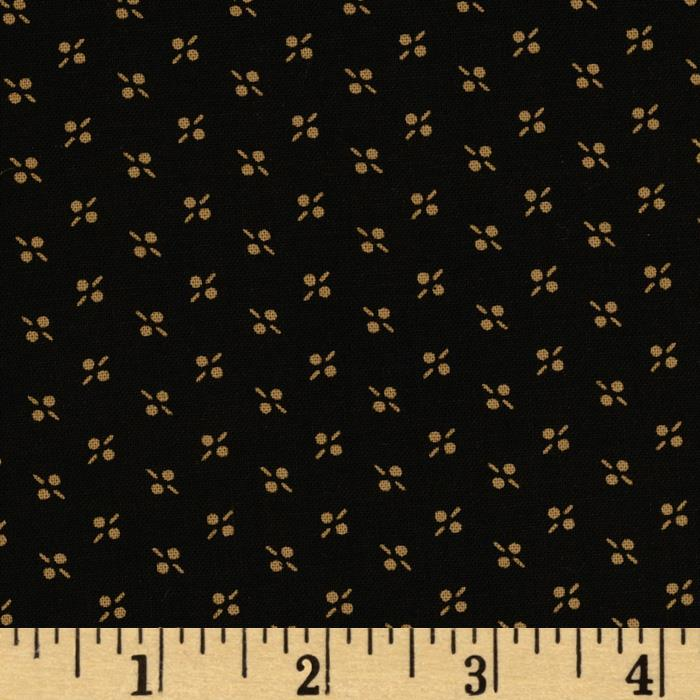 Historic Companions Dots Black
