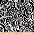 Sketchbook Circle Swirl Black