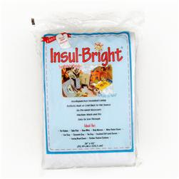 Insul-Bright Mylar/Poly Batting 36'' x 45