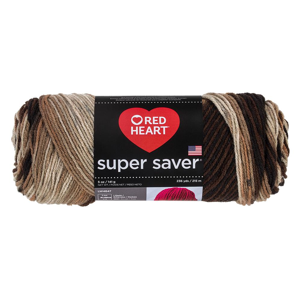 Red Heart Super Saver Yarn 988 Platoon (m)