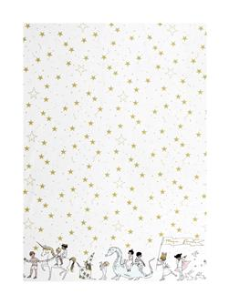 Michael Miller Minky Sarah Jane Magic Magical Parade Double Border White
