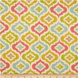 Waverly Lunar Lattice Twill Golden Fabric