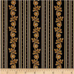 Little House On The Prairie Stripe Black