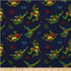Nickelodeon Teenage Mutant Ninja Turtles Flannel Cowabunga Toss