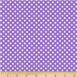 Spot On II Mini Dots Lavender/White