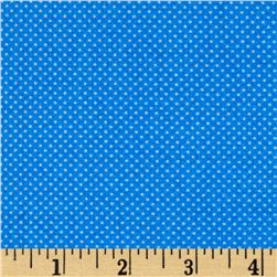 Timeless Treasures Splash Pin Dots Blue