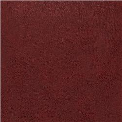 Fabricut 03343 Faux Leather Burgundy