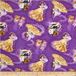 Disney Beauty & The Beast Belle Character Toss Purple