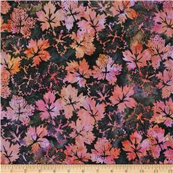 Bali Batiks Dotty Leaves Paris