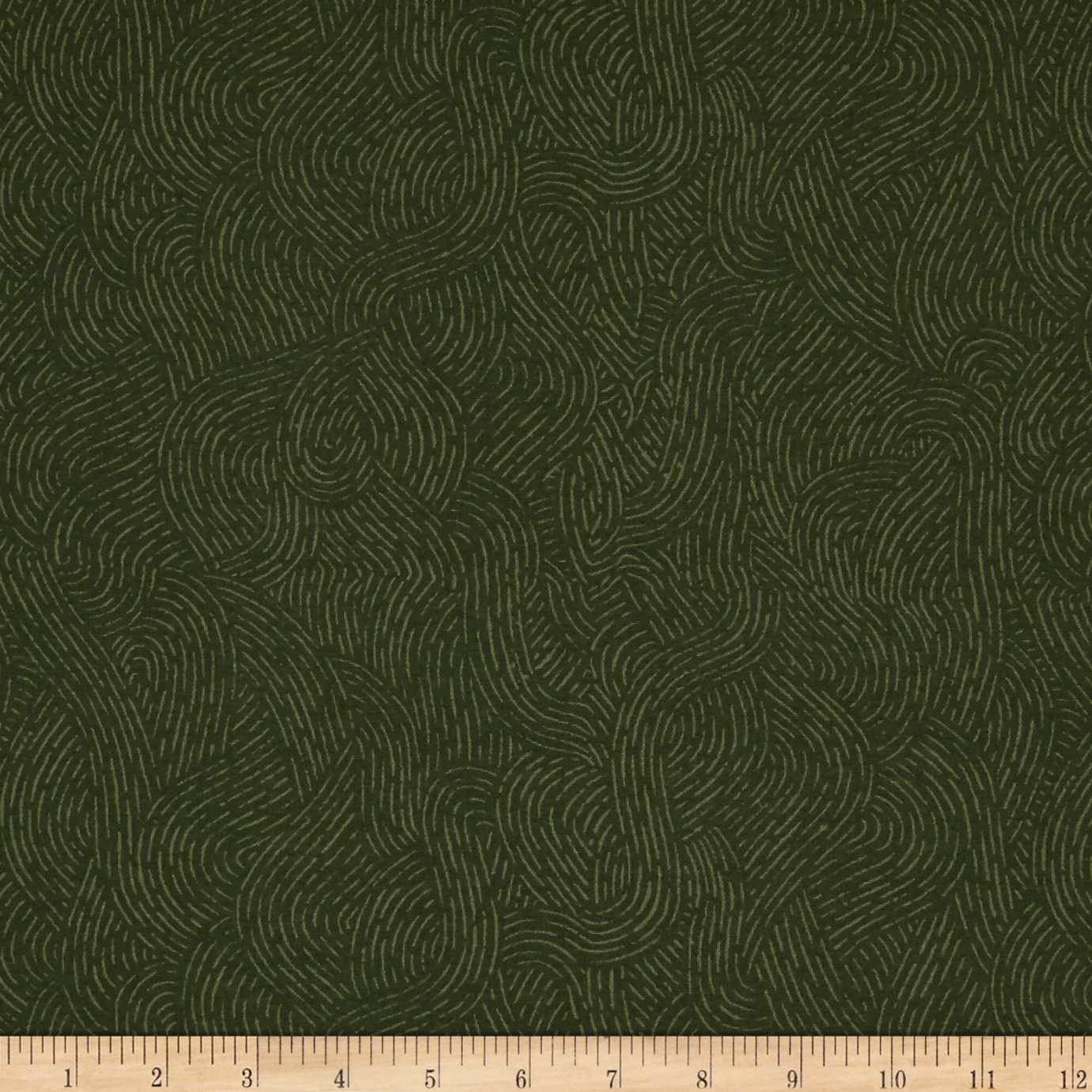 110 Wide Flannel Quilt Backing Seacoast Olive Fabric