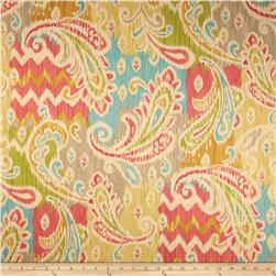 Waverly Splash of Color Twill Golden Fabric