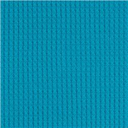Rayon Poly Thermal Knit Turquoise