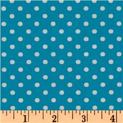 Crazy for Dots & Stripes Dottie Capri Blue
