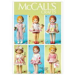 "McCall's Clothes For 18"" Doll Pattern M6573 Size OSZ"