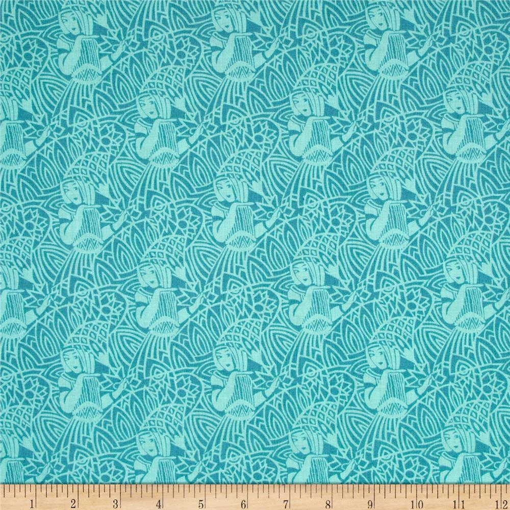 Egypt Pharoah Teal