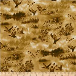 North By Northwest Flannel Duck Hunt Brown