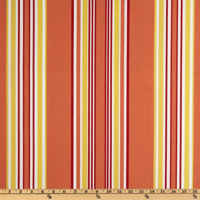 Suburban Home Indoor/Outdoor Brazabon Stripe Blaze