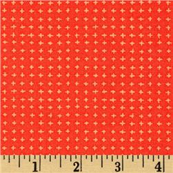 Moda Tucker Prairie Tiny Crosses Coral Bells