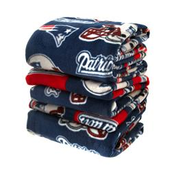 Three Pound NFL Fleece Remnant Bundle New England Patriots