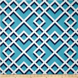 P Kaufmann Indoor/Outdoor Pergola Caribbean Blue Fabric