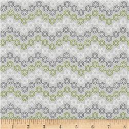 Mod Geek Neutron Zig Zag Atmosphere Grey Fabric