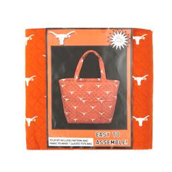 Collegiate Quilted Tote University of Texas