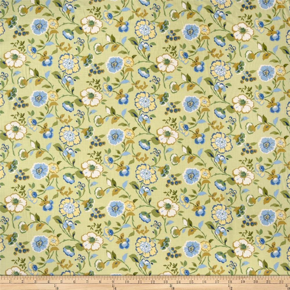 Fabricut Parcheesi Linen Blend Key Lime