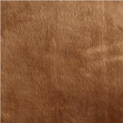 Tissavel Luxury Faux Fur Volga Discharged Cocoa