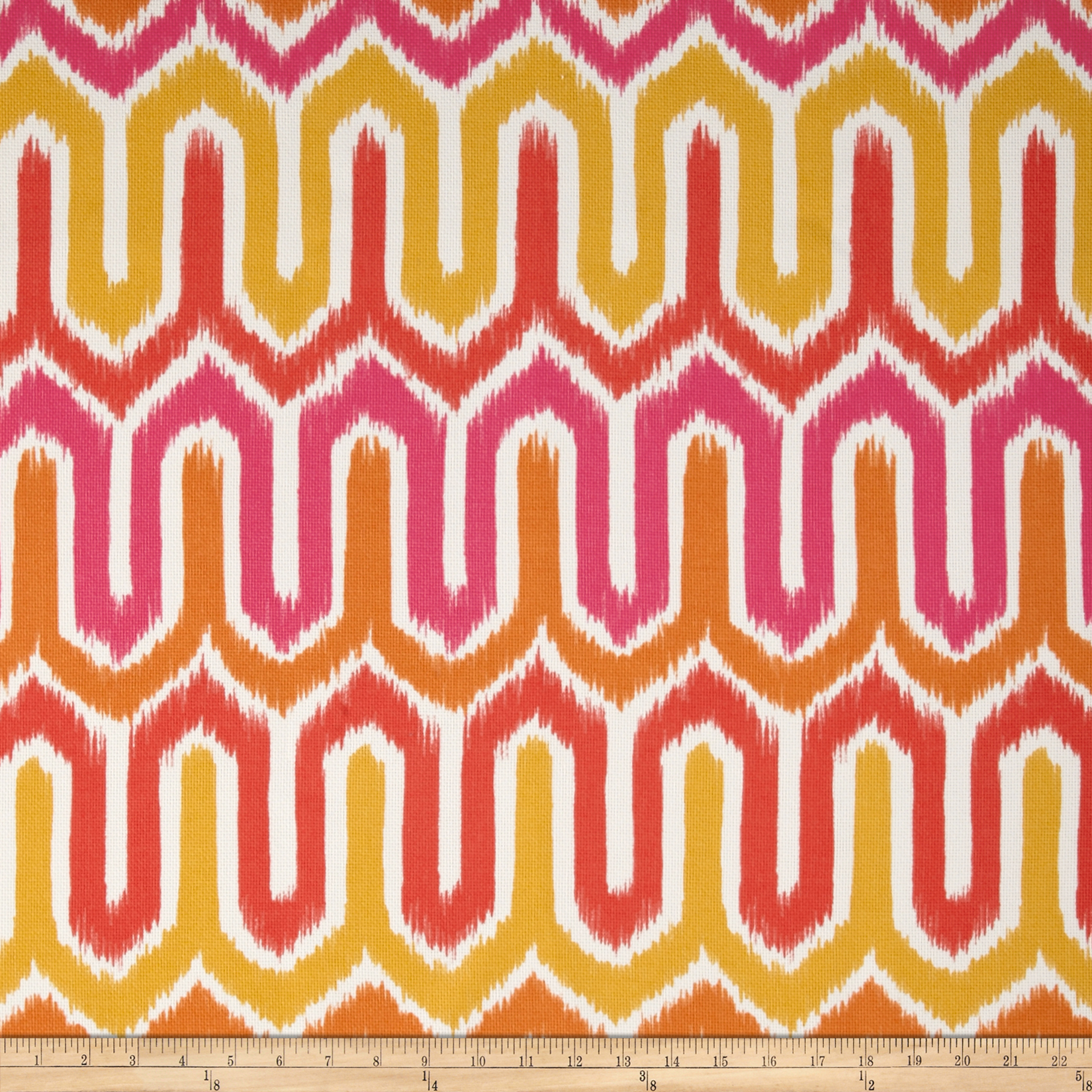 P Kaufmann Indoor/Outdoor Termiz Melon Fabric