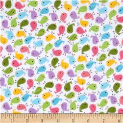 Kaufman Urban Zoologie Mini Flannel Birds Sweet