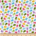 Robert Kaufman Urban Zoologie Mini Flannel Birds Sweet