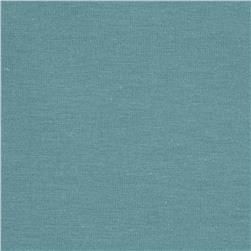 Cotton/Lycra Stretch Jersey Haze Blue Geen