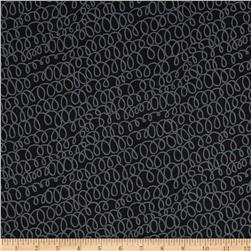 Kanvas All's Wool That Ends Wool Woolly Bully Black/Charcoal
