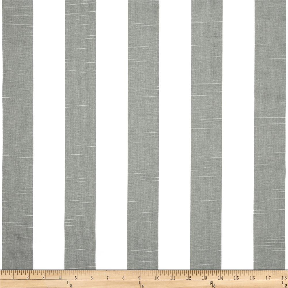Premier Prints Premier Stripe Slub Ash Grey Fabric