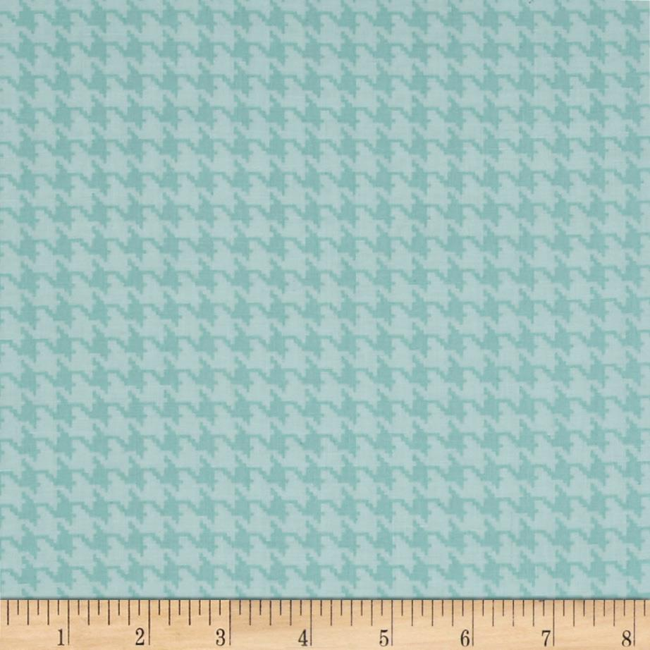 The Dog Gone It Collection Houndstooth Turquoise