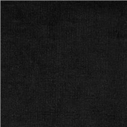 Kaufman Stretch 21 Wale Corduroy Black